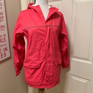 GUC Lands' End Classic Rain Jacket, Size Medium